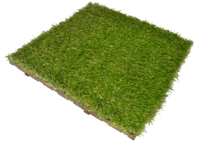 greenplate modular synthetic grass tile for outdoor by ONEK