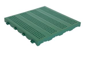 PIASTRELLA ONEK 40x40 forata verde