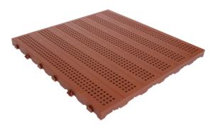 PIASTRELLA ONEK 60x60 forata mattone